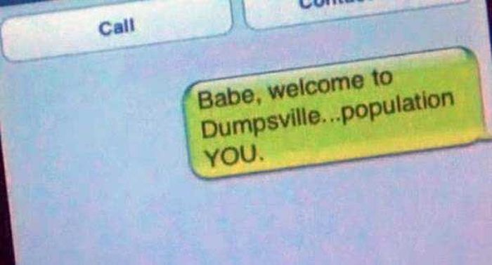 Totally Harsh Breakup Texts (16 pics)