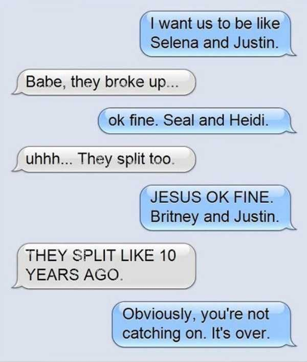 Totally Harsh Breakup Texts (16 pics)