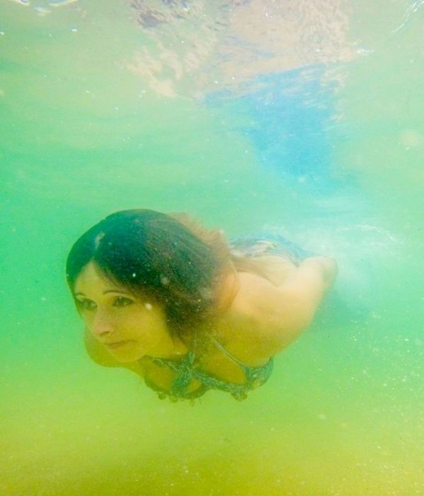 The World's First Professional Mermaid (8 pics)