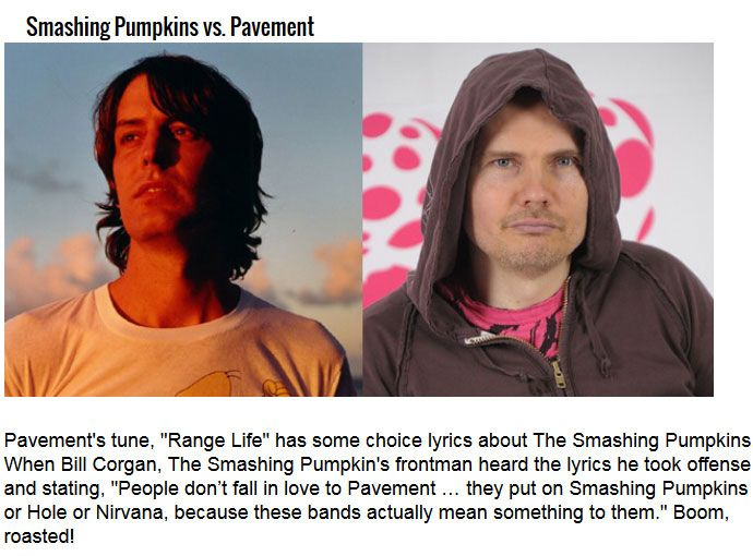 The Most Epic Rock N' Roll Feuds Of All Time (8 pics)
