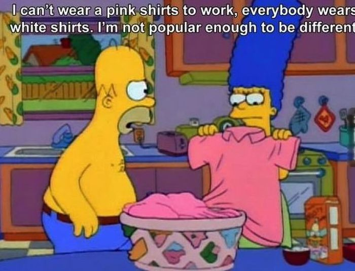 The Simpsons Tell It Like It Is (20 pics)