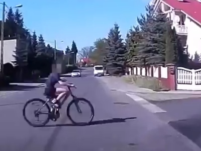 Cyclists On The Road Can Be Dangerous
