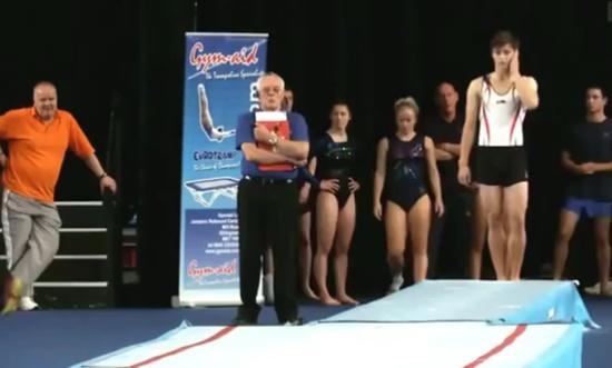 Incredible Gymnastics Skills Performance