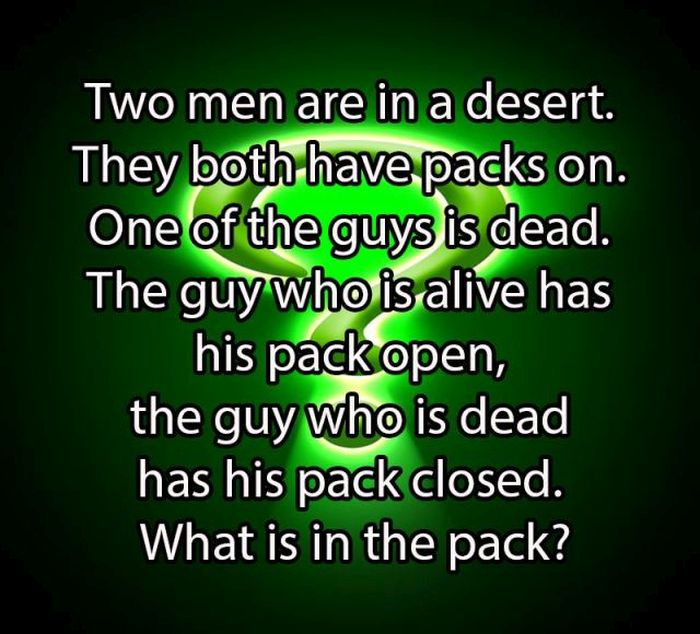 Simple Riddles (30 pics)