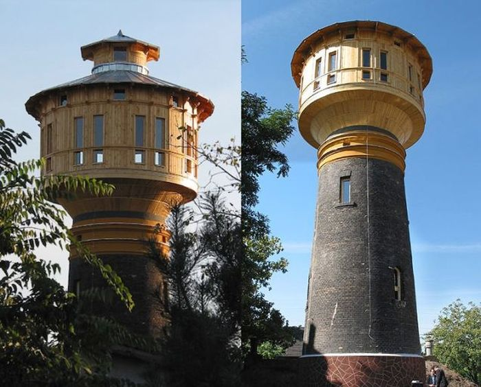 Water Towers That Were Turned Into Epic Homes (37 pics)