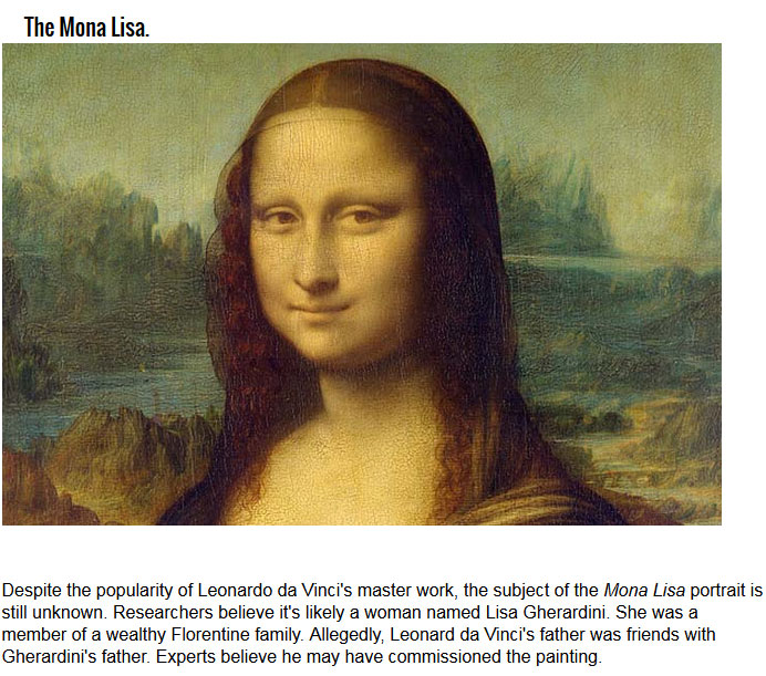 Unknown Facts About Famous Paintings (10 pics)