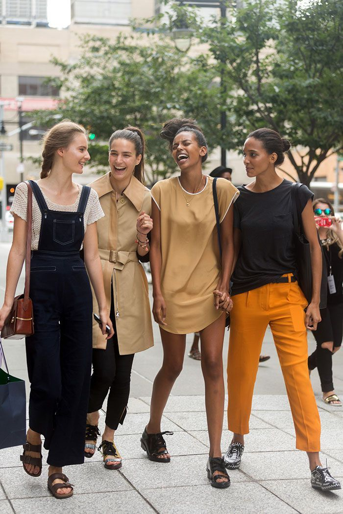 The Beautiful Models Of Fashion Week Explore New York (77 pics)