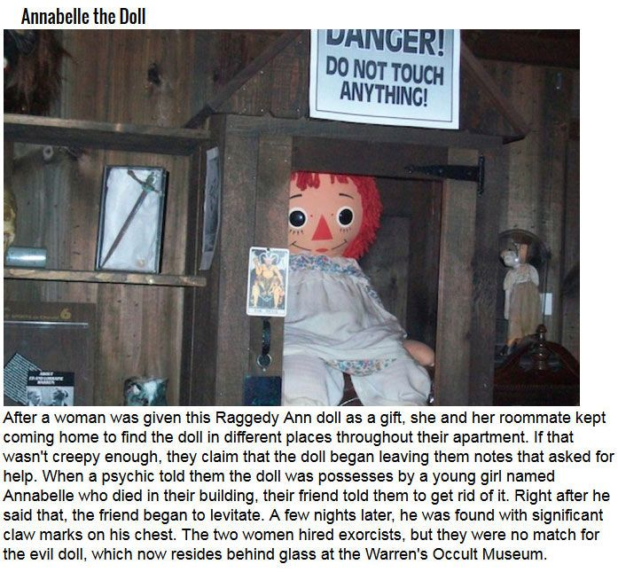 These Are Some Of The Most Cursed Items In The World (8 pics)