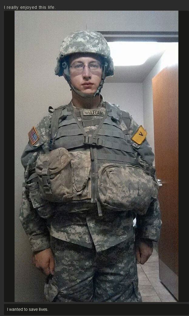 Transformation From Man To Soldier (12 pics)