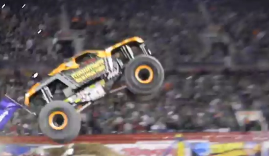 Impressive Monster Truck Performance