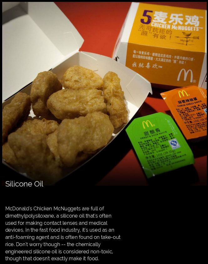 This Is What's Really In Fast Food (10 pics)