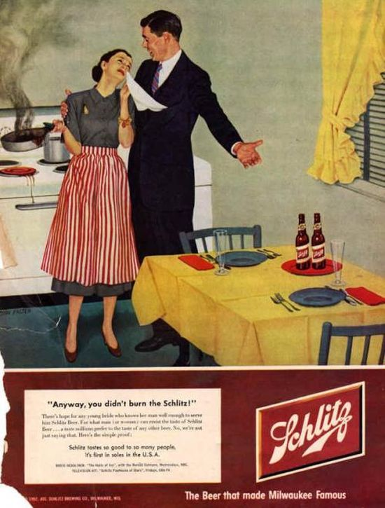 Vintage Ads That Are Totally Sexist (24 pics)