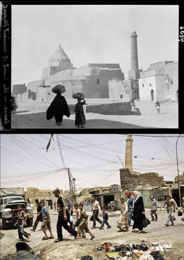 Mosul Back In The Day And Today (10 pics)