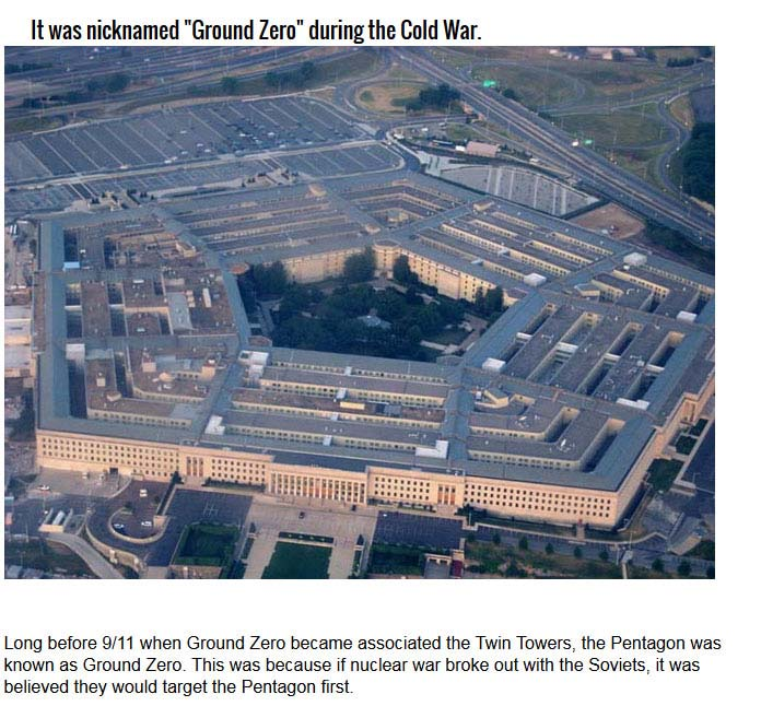 10 Insane Facts About The Pentagon (10 pics)