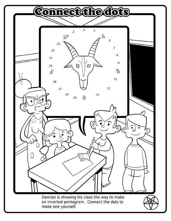 The Satanic Coloring Book Made For Kids (7 pics)