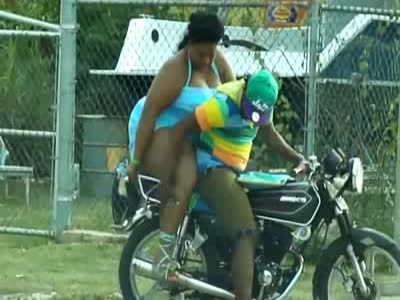 Epic Motorcycle Ride With A Fat Girlfriend