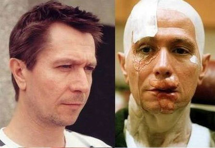 Gary Oldman's Amazing Makeup Transformation From Hannibal (3 pics)
