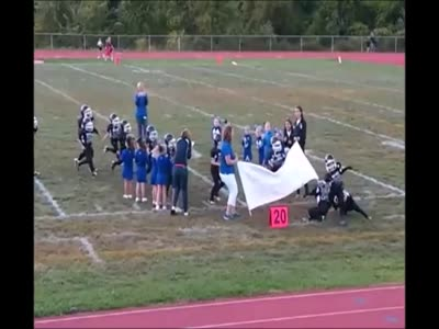 Football Team Vs Banner