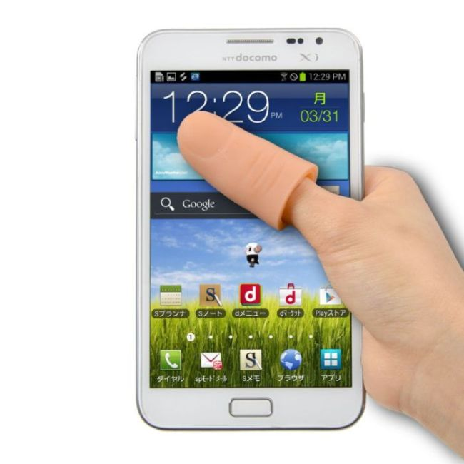 Finger Extender For Your Phone (7 pics)