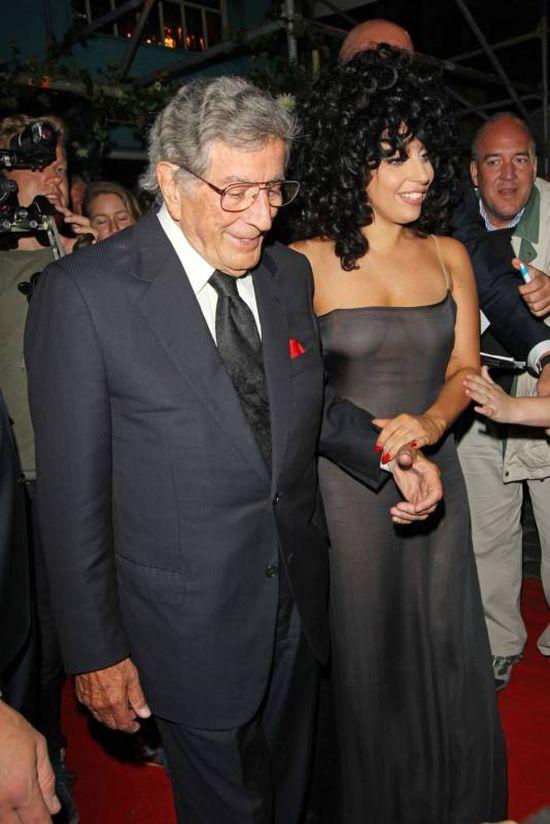 Lady Gaga Goes Braless In Belgium (14 pics)