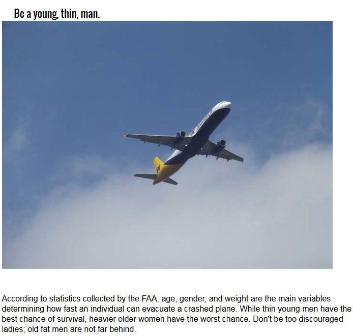 The 10 Best Ways To Survive A Plane Crash (10 pics)