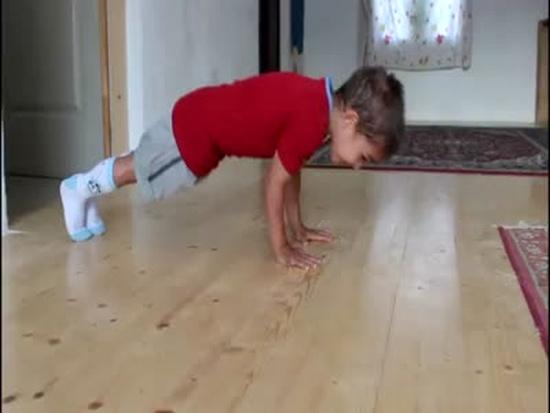 Amazing Kid's Workout Skills