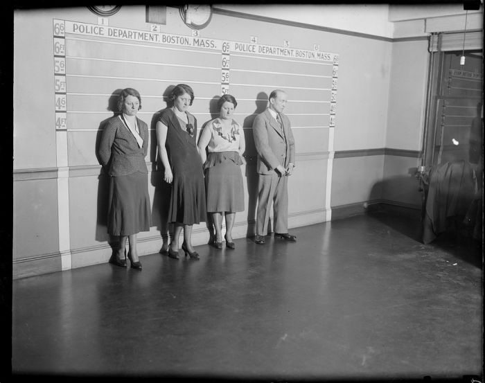 Boston Police Photos From The 1930s (41 pics)