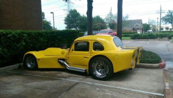 Funny Car-Themed Photos. Part 11 (53 pics)