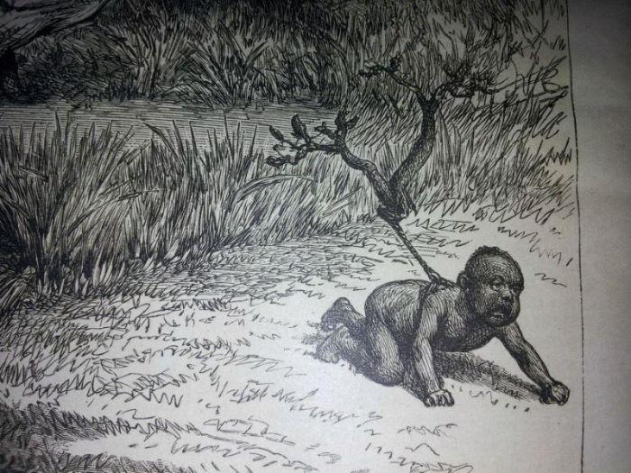 Using Humans To Hunt Crocodiles (4 pics)