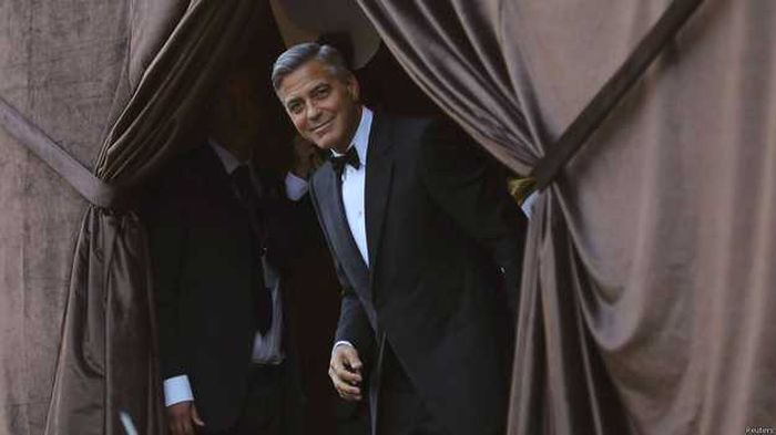 George Clooney And Amal Alamuddin Had A Beautiful Wedding (16 pics)