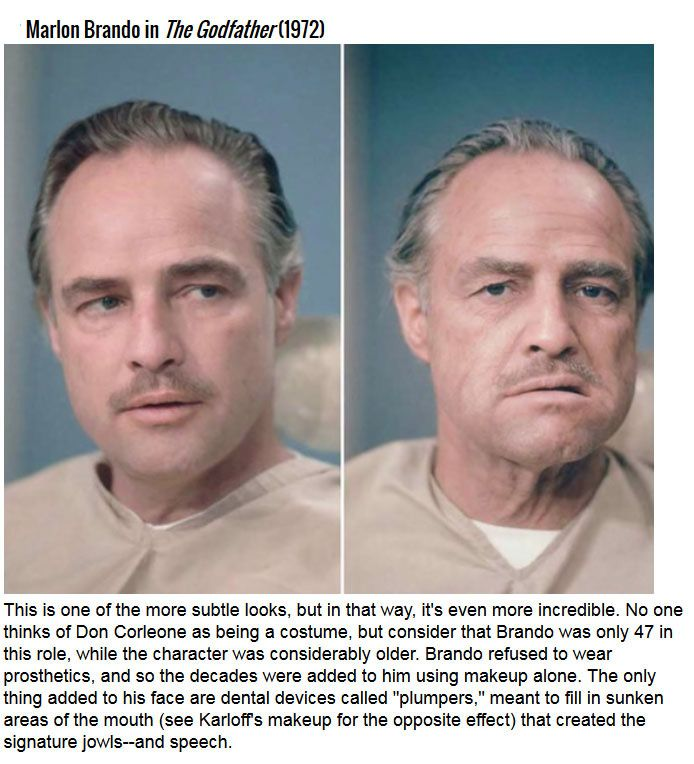 The Most Impressive Movie Makeup Transformations In History (10 pics)