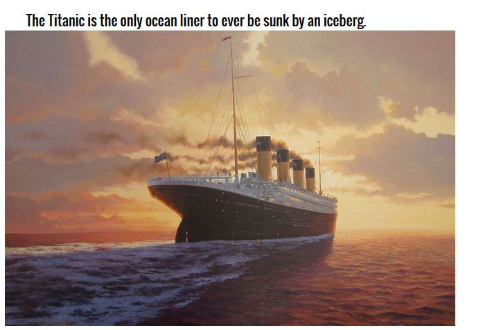 Incredible Facts About The Legendary Titanic (12 pics)