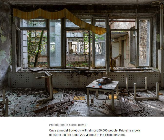 Tourists In Chernobyl (11 pics)