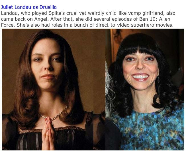 """The Cast Of """"Buffy The Vampire Slayer"""" Back In The Day And Today (15 pics)"""