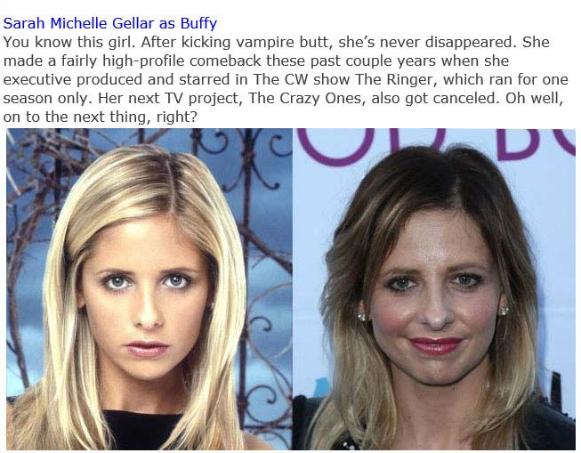 "The Cast Of ""Buffy The Vampire Slayer"" Back In The Day And Today (15 pics)"