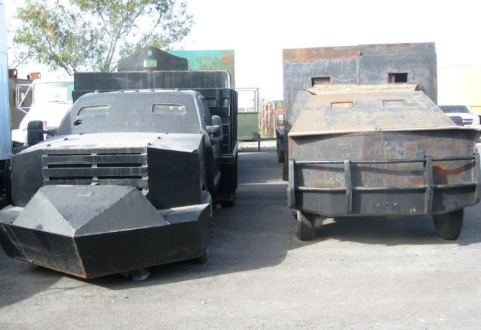 The Vehicles Of The Mexican Drug War (14 pics)