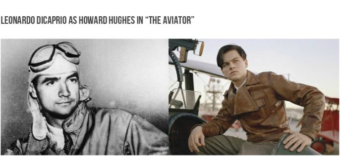Actors Side By Side With The Person They Played In A Biopic (99 pics)