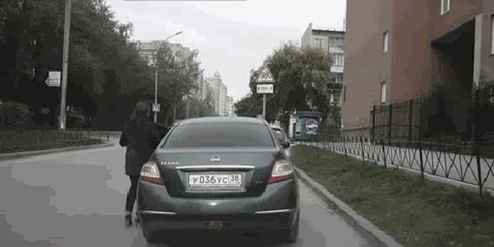 Russian Auto Thefts (4 pics)