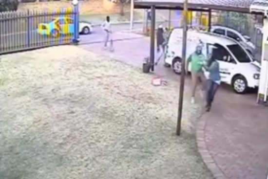 Robbery In South Africa Gone Wrong