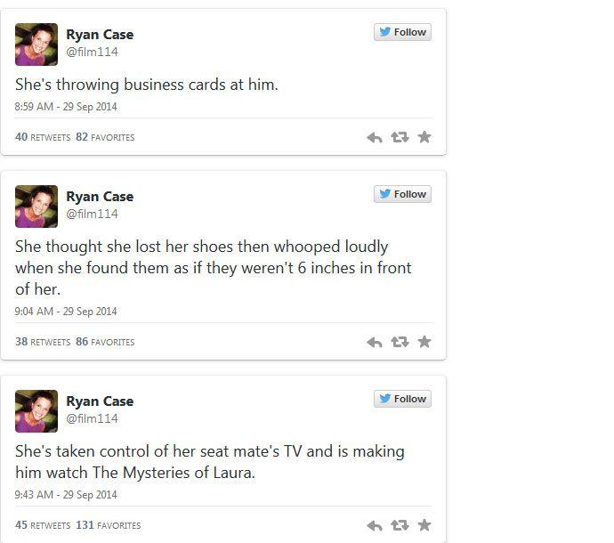 Modern Family Editor Live Tweets Terrible Airplane Passenger Encounter (5 pics)