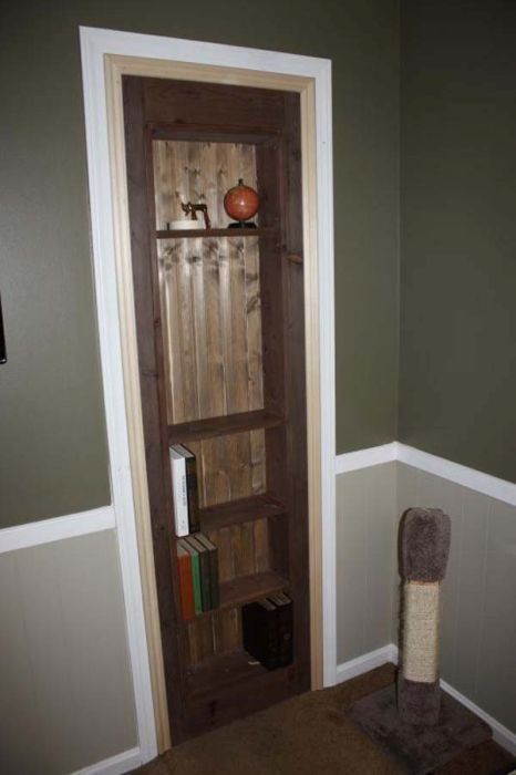 Building A Secret Door DIY (22 pics)