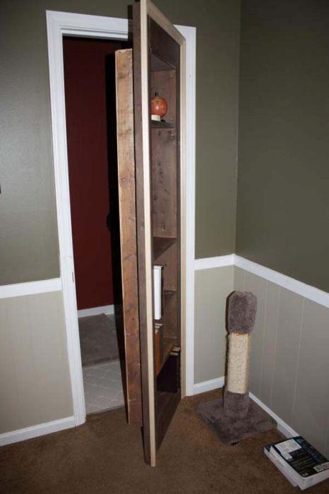 Building A Secret Door Diy 22 Pics