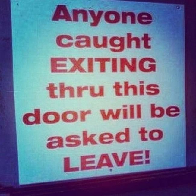 The Only Thing These Signs Do Is Confuse People (33 pics)