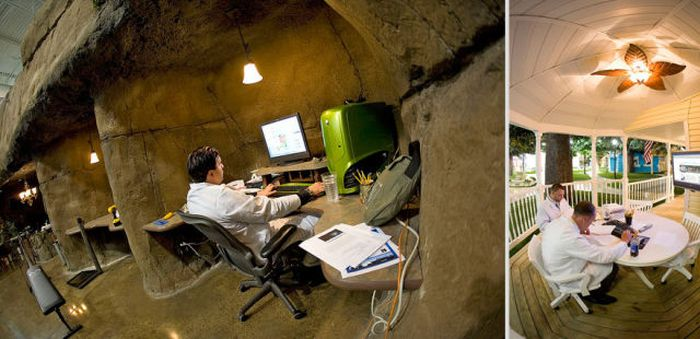 Offices That You Would Actually Want To Work At (101 pics)