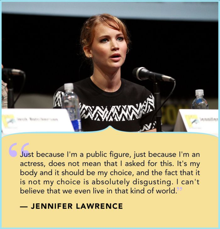 Jennifer Lawrence Talks About Her Leaked Nude Photos (3 pics)