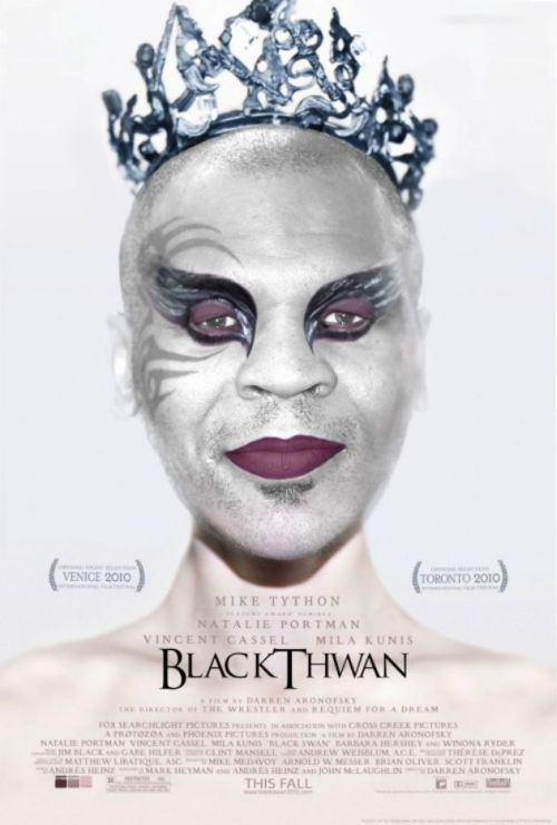 Movie Posters Made Better By Adding Mike Tyson (25 pics)