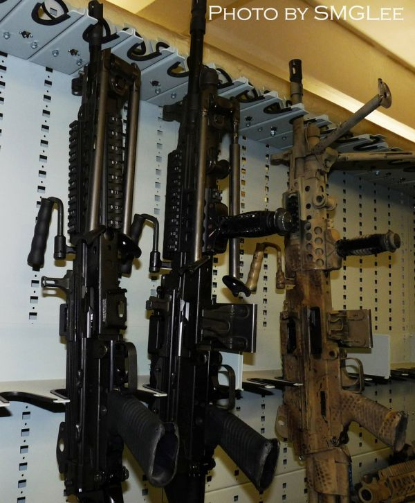 Inside A Navy SEAL Armory (25 pics)