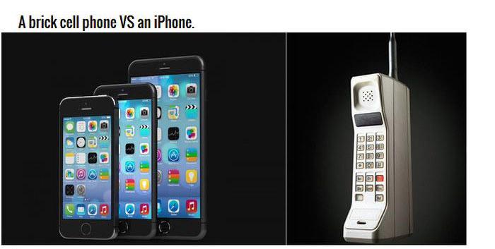 Technology Back In The Day And Today (12 pics)