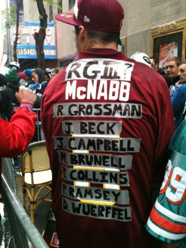 The Best And Worst Of Personalized Fan Jerseys (27 pics)