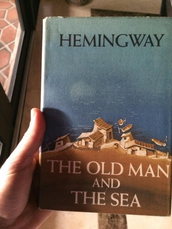 Ernest Hemingway Autograph From A Yard Sale (2 pics)